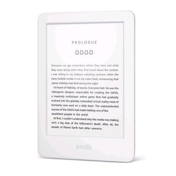 Amazon Kindle Touch 2020 - sponzorovaná verzia, white - OPENBOX (Rozbalený tovar s plnou zárukou)
