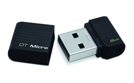 8GB Kingston USB 2.0 DataTraveler Micro, �ern�