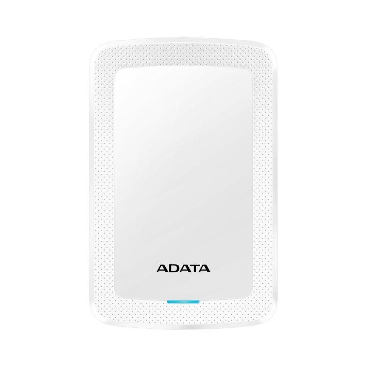 A-Data HDD HV300, 1TB, USB 3.2 (AHV300-1TU31-CWH), White