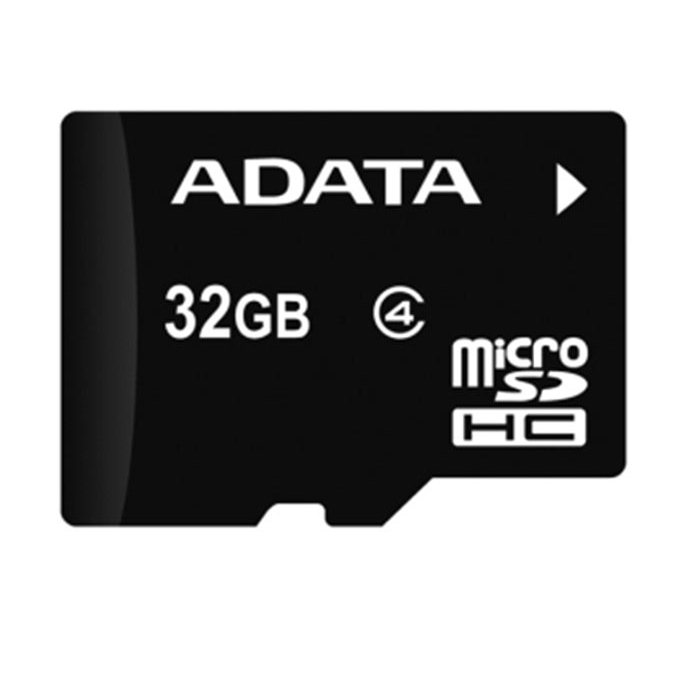 A-Data Micro SDHC 32GB + SD adapt�r, Class 4 - r�chlos� 14 MB/s