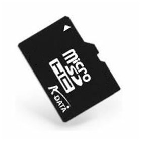 A-DATA Micro SDHC Card 8GB, Class 4 - r�chlos� 14 MB/s