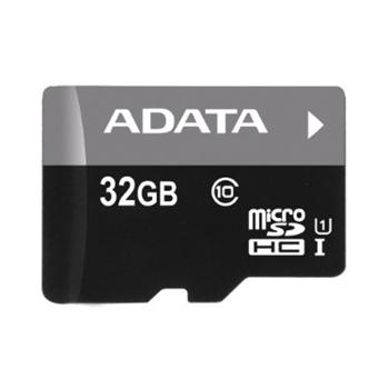 A-Data Micro SDHC Premier 32GB + SD adapt�r, UHS-I, Class 10 - r�chlos� 30 MB/s