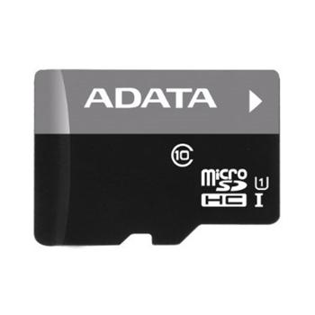 A-Data Micro SDHC Premier 8GB + SD adapt�r, UHS-I, Class 10 - r�chlos� 50 MB/s