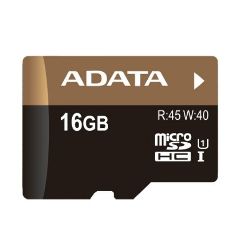 A-Data Micro SDHC Premier Pro 16GB + SD adapt�r, UHS-1, Class 10 - r�chlos� 45 MB/s