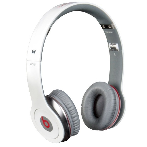 Akcia - Monster Beats by Dr.Dre Solo HD, White