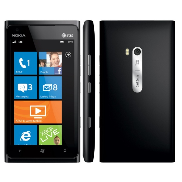 Akcia - Nokia Lumia 900, WindowsPhone 7.5, Black