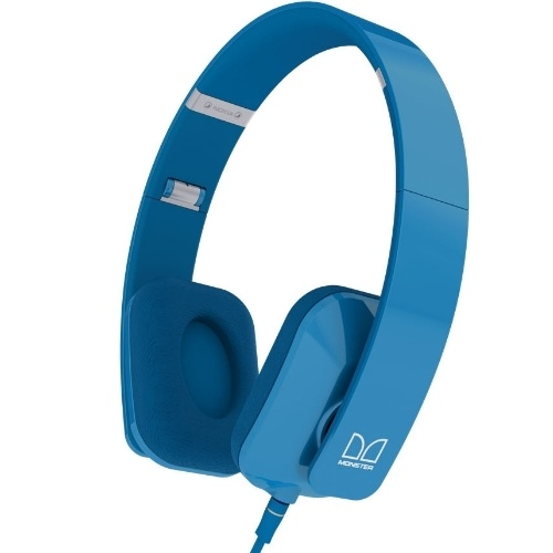 Akcia - Nokia WH-930, k�blov� Stereo Headset by Monster, azurov�
