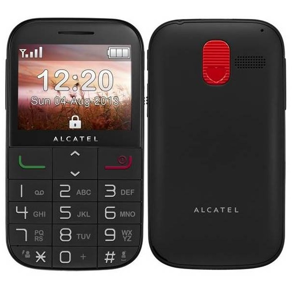 Alcatel 2000 Onetouch Black - SK distrib�cia