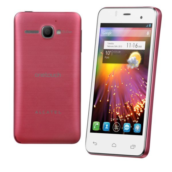 Alcatel One Touch 6010D Star - Dual Sim, Pink - SK distrib�cia