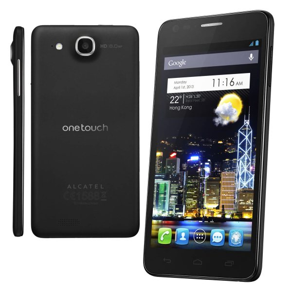 Alcatel One Touch 6033 Idol Ultra, Android OS, Black