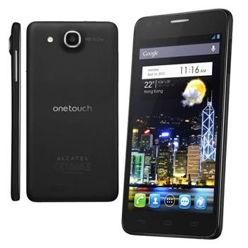 Alcatel One Touch 6033 Idol Ultra, Black