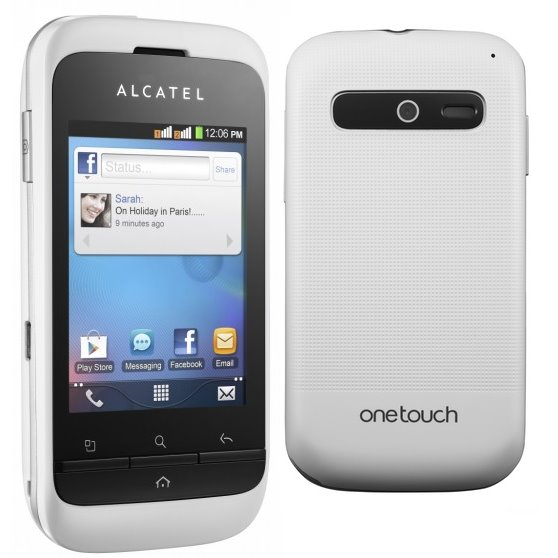 Alcatel One Touch 903D - Dual Sim, White - SK distrib�cia