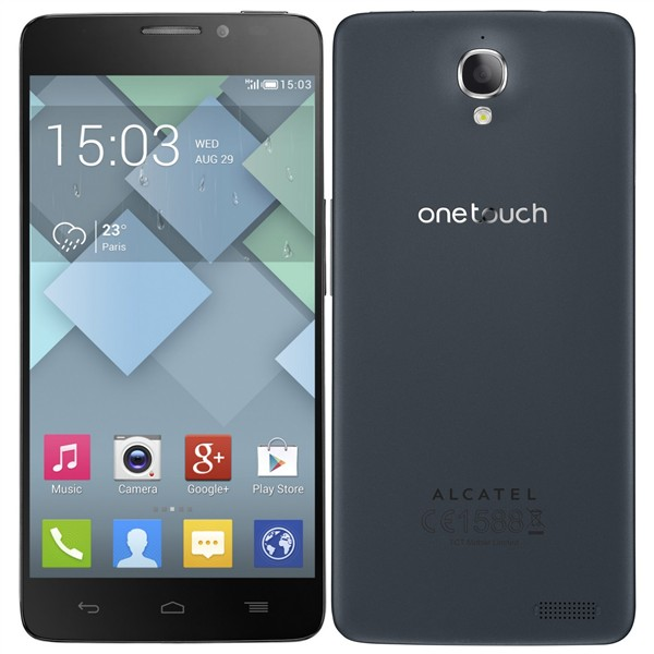 Alcatel One Touch Idol X - 6040D, Dual Sim, Black - SK distrib�cia