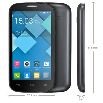 Alcatel One Touch Pop C5 - 5036D, Dual Sim, Grey - SK distrib�cia