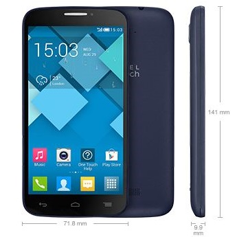 Alcatel One Touch Pop C7 - 7041D, Dual Sim, Black - SK distrib�cia
