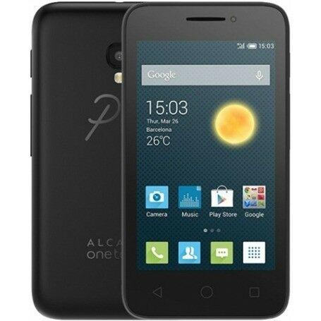 Alcatel OneTouch 4013X PIXI 3, Single SIM, Anglický jazyk | Black, Trieda A - použité, záruka 12 mesiacov