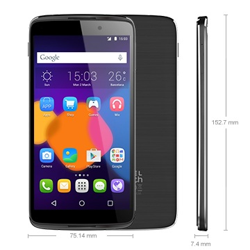 Alcatel OneTouch 6045Y Idol 3 (5.5), Dark Grey - SK distrib�cia