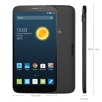 Alcatel OneTouch 8030Y Hero 2, Dark Grey - SK distrib�cia