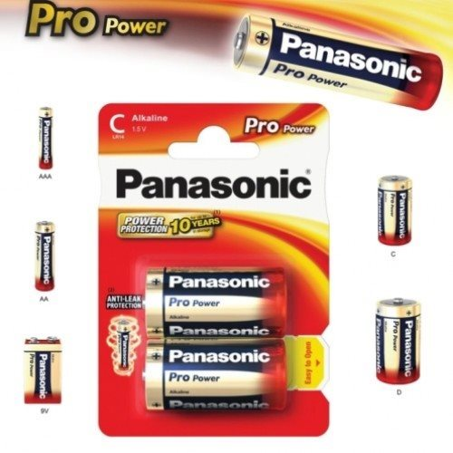 Alkalická batéria typ D(LR20), Panasonic Pro Power, 2 kusy