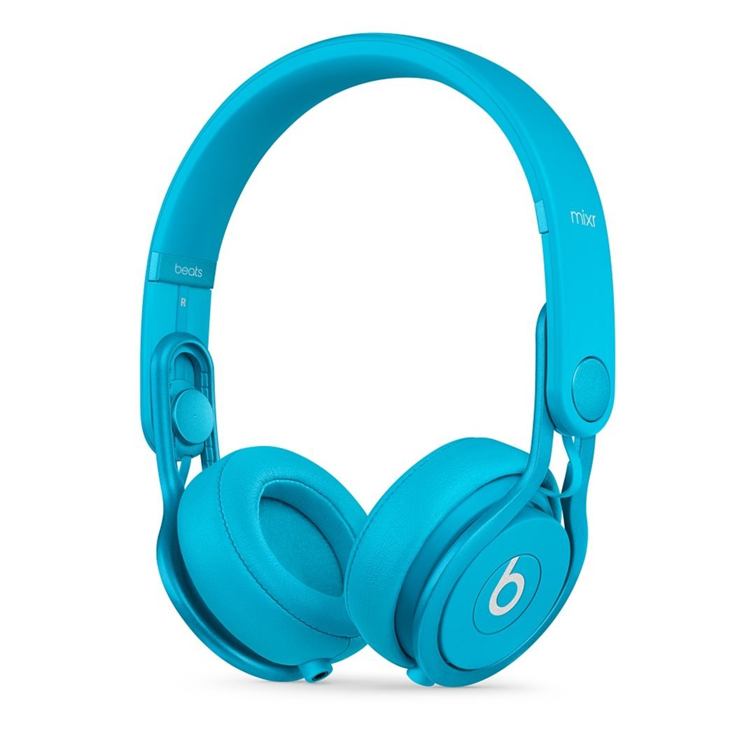 Apple Beats Mixr by DR.Dre On-Ear - k�blov� Headset, Light Blue
