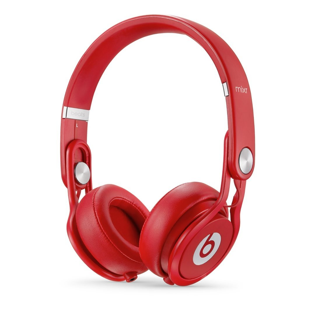 Apple Beats Mixr by DR.Dre On-Ear - k�blov� Headset, Red