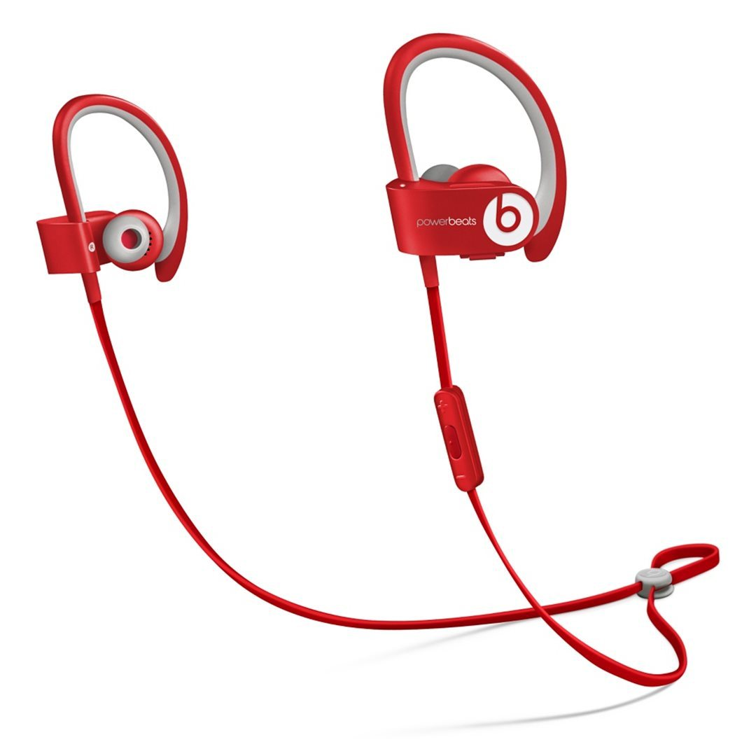Apple Beats PowerBeats 2 Wireless by DR.Dre - Bluetooth Headset, Red