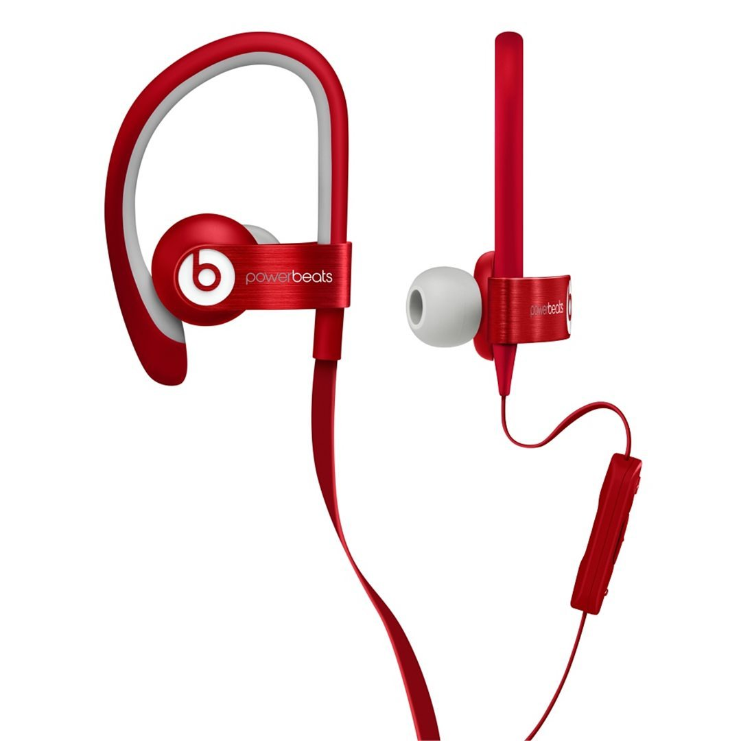 Apple Beats PowerBeats by DR.Dre In-Ear - k�blov� Headset, Red