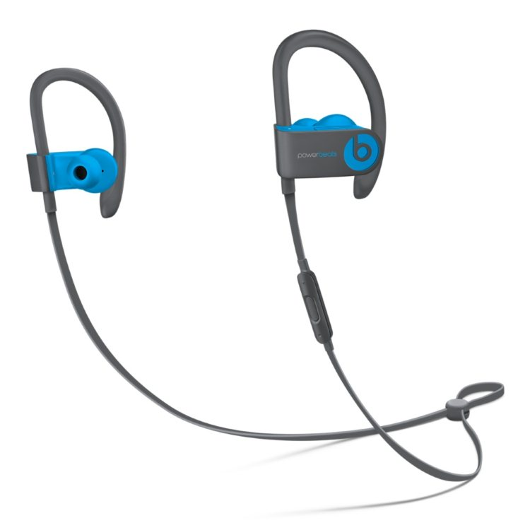 Apple Beats PowerBeats3 Wireless - Bluetooth Headset, Flash Blue (MNLX2ZM/A)