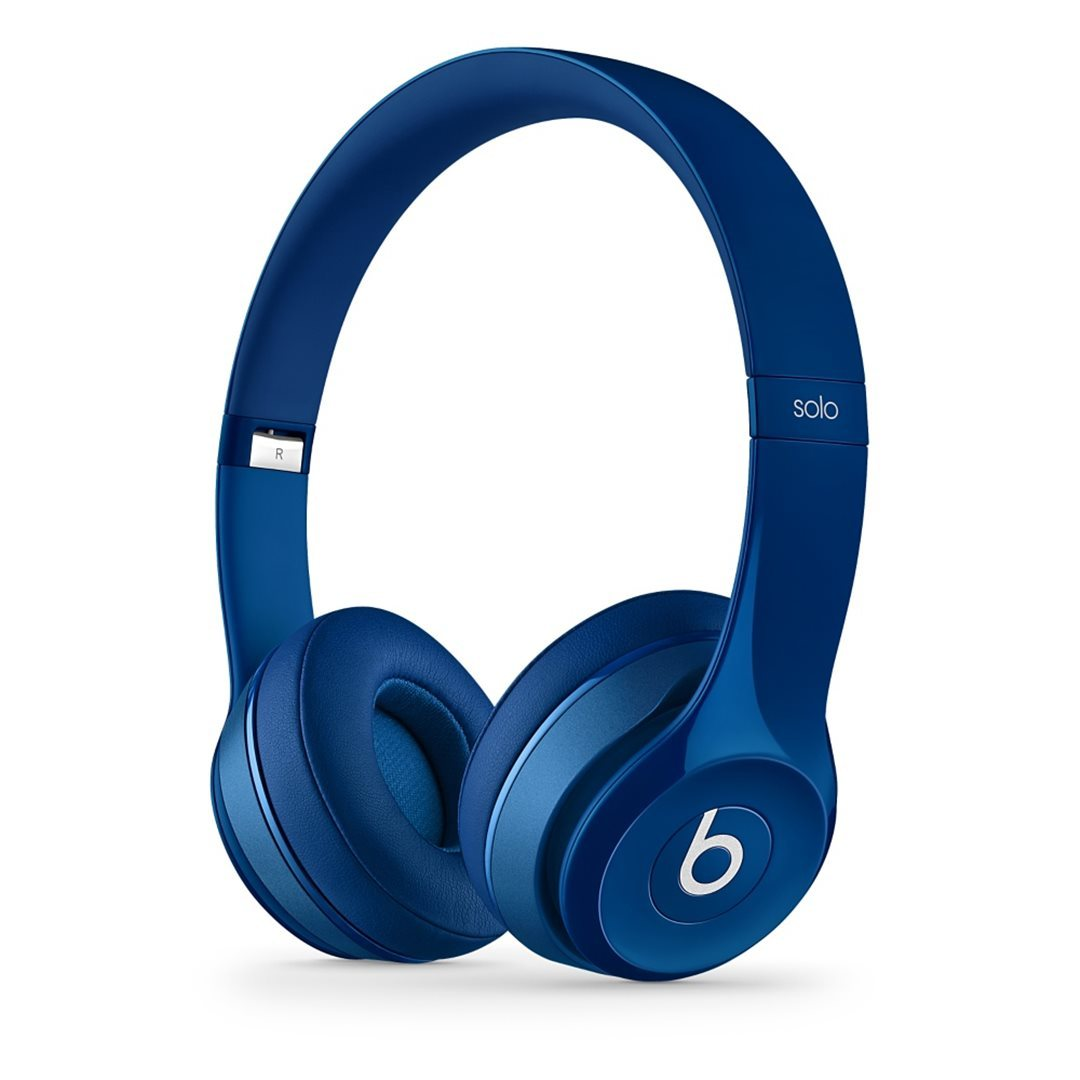 Apple Beats Solo2 by DR.Dre On-Ear - k�blov� Headset, Blue