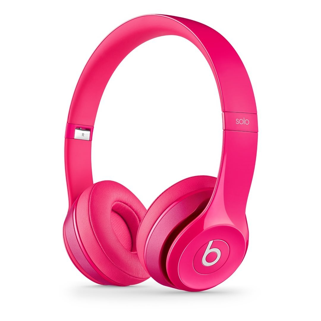 Apple Beats Solo2 by DR.Dre On-Ear - k�blov� Headset, Pink