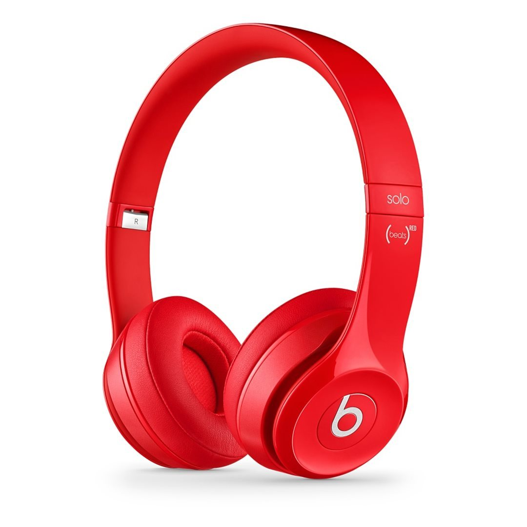 Apple Beats Solo2 by DR.Dre On-Ear - k�blov� Headset, Red