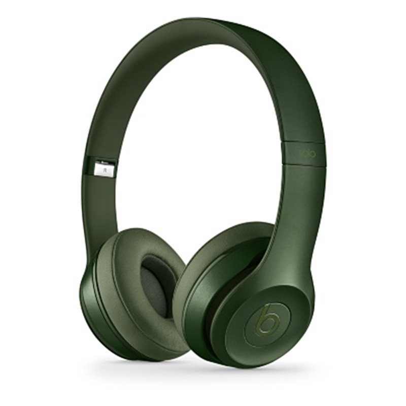 Apple Beats Solo2 by DR.Dre On-Ear - k�blov� Headset, (Royal Collection) - Hunter Green