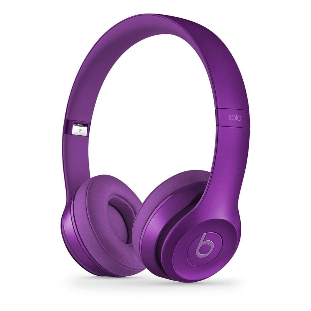 Apple Beats Solo2 by DR.Dre On-Ear - k�blov� Headset, (Royal Collection) - Imperial Violet
