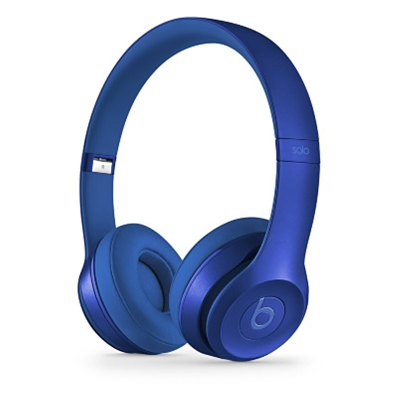 Apple Beats Solo2 by DR.Dre On-Ear - k�blov� Headset, (Royal Collection) - Sapphire Blue