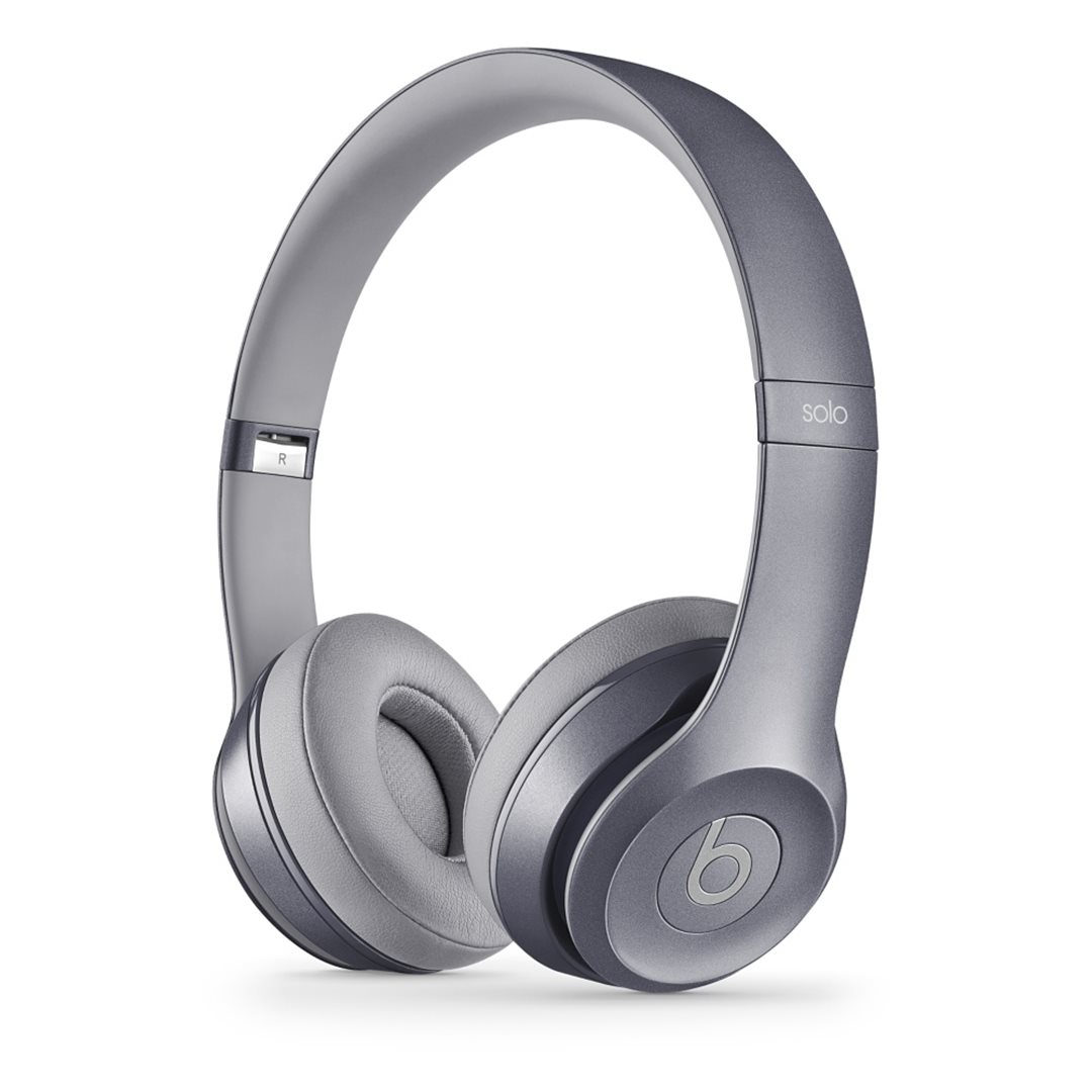 Apple Beats Solo2 by DR.Dre On-Ear - k�blov� Headset, (Royal Collection) - Stone Grey