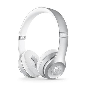 Apple Beats Solo2 Wireless by DR.Dre On-Ear, Silver
