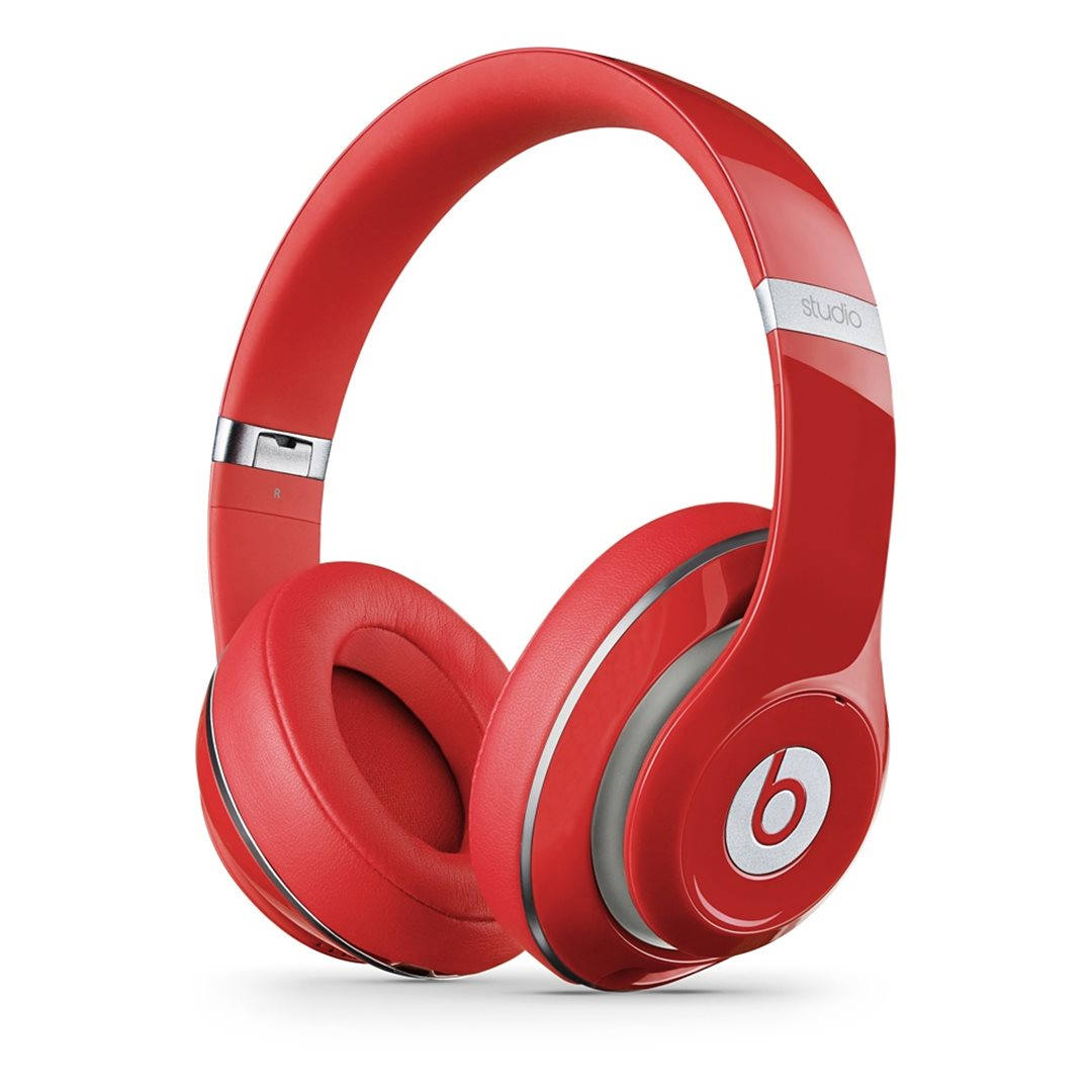 Apple Beats Studio 2 by DR.Dre Over-Ear - k�blov� Headset, Red