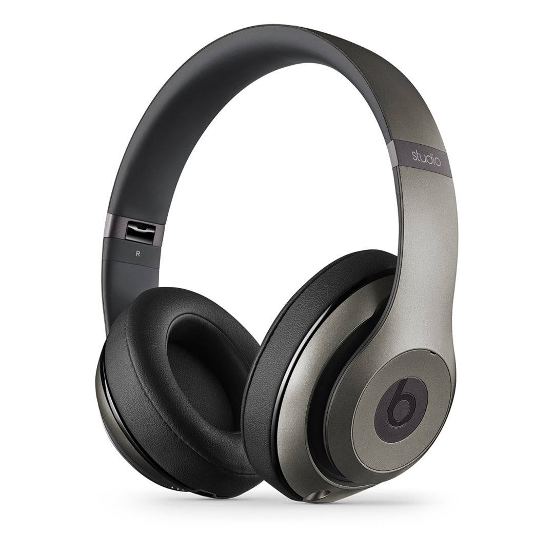 Apple Beats Studio 2 by DR.Dre Over-Ear - k�blov� Headset, Titanium