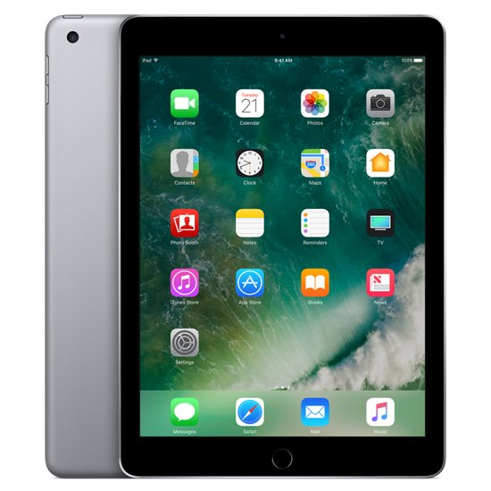 Apple iPad (2017), 128GB, Space Gray