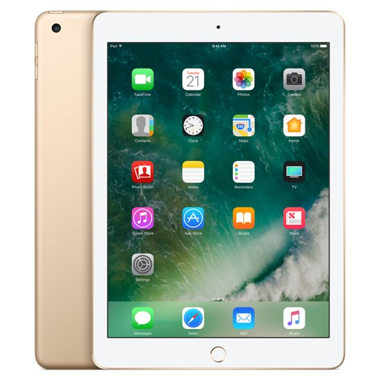 Apple iPad (2017), Cellular, 128GB, Gold