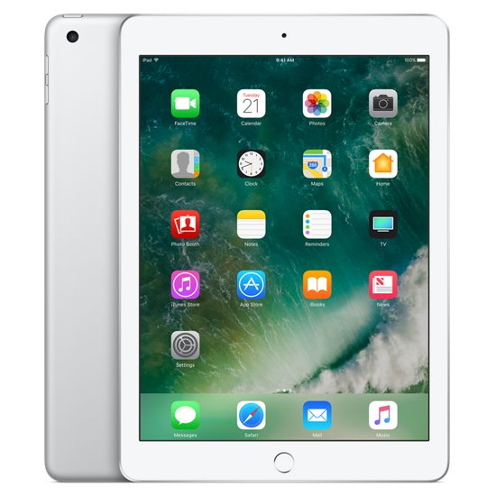 Apple iPad (2017), Cellular, 128GB, Silver