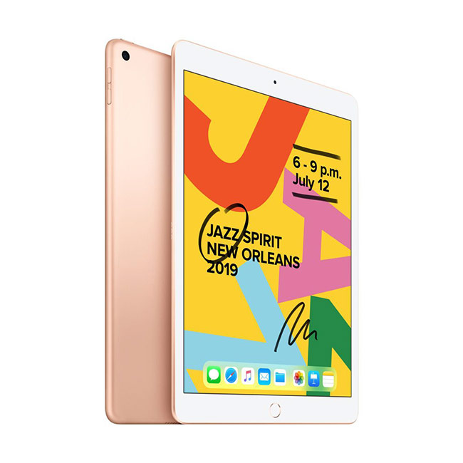 Apple iPad (2019), Wi-Fi + Cellular, 128GB, Gold MRJN2FD/A
