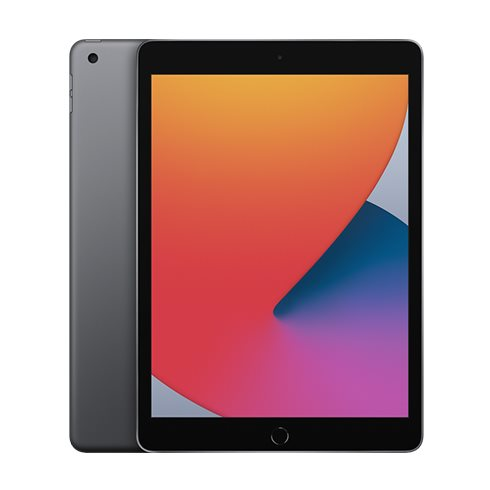 Apple iPad (2020), Wi-Fi + Cellular, 128GB, Space Gray