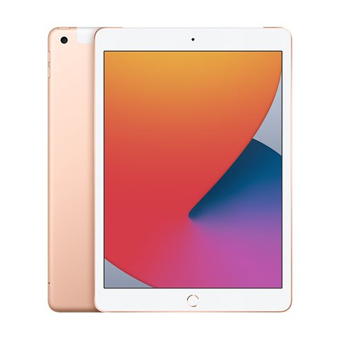 Apple iPad (2020), Wi-Fi + Cellular, 32GB, Gold