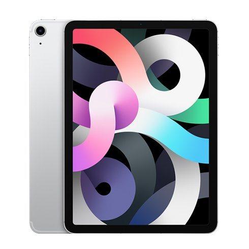 "Apple iPad Air 10.9"" (2020), Wi-Fi + Cellular, 256GB, Silver"
