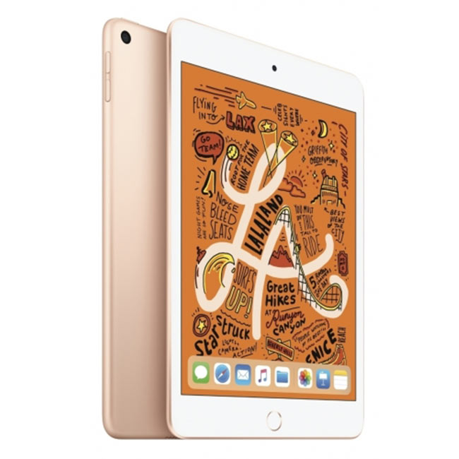 Apple iPad Mini (2019), Wi-Fi + Cellular, 256GB, Gold