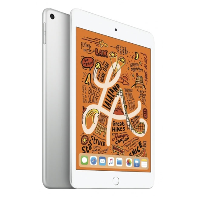 Apple iPad Mini (2019), Wi-Fi + Cellular, 256GB, Silver