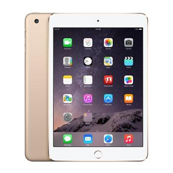 Apple iPad Mini 3, 128GB, Wi-Fi + Cellular, Gold