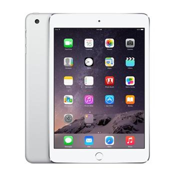 Apple iPad Mini 3, 128GB, Wi-Fi + Cellular, Silver