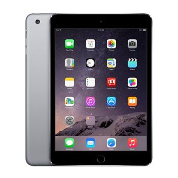 Apple iPad Mini 3, 128GB, Wi-Fi + Cellular, Space Gray